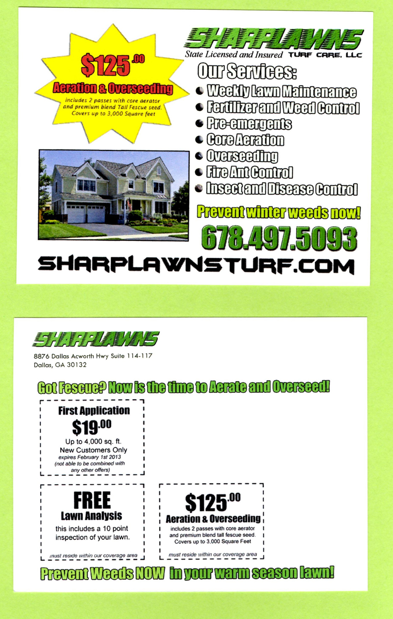 Lawn care bid template free joy studio design gallery for Landscaping business
